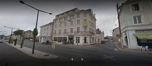 Europcar Location Hotel Ibis Saumur